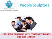 LEADERSHIP COACHING WITH CONTINUITY BRINGS OUT BEST LEADERS