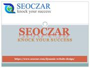 Dynamic website design | web design services | seoczar