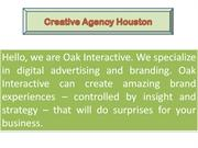 Advertising Agency in Houston - OAK Interactive