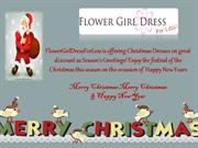 Best Christmas Dresses from Flower Girl Dress For Less