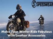 Make Your Winter Ride Fabulous With Leather Accessories