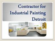 Contractor for Industrial Painting Detroit