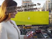 Enhance Your Visibility Via Buying Snapchat Points