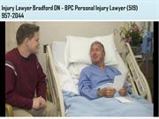 Personal Injury Lawyer Newmarket ON