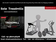 Sole Smooth Treadmills Small Mini Small with Cheap Rates Buy Online In