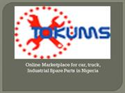 Online Marketplace & Industrial Spare Parts