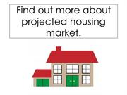 Find out more about projected housing market
