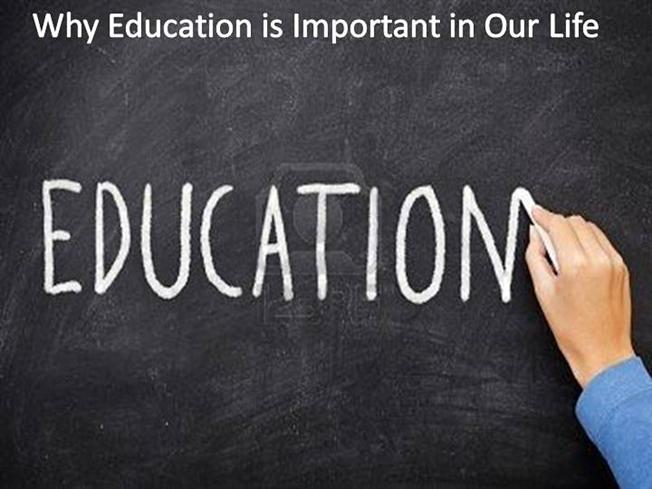 education plays an important role in our life