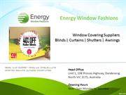 Energy Window Fashions - Window Covering Suppliers