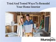 Tried And Tested Ways To Remodel Your Home
