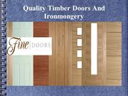 The Best Door Company Offers Best And Quality Doors