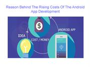 Why App Development is costly compared to the iOS app development