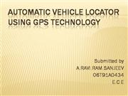 Automatic Vehicle Locator