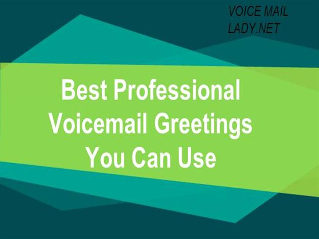 Best professional voicemail greetings you can use authorstream m4hsunfo