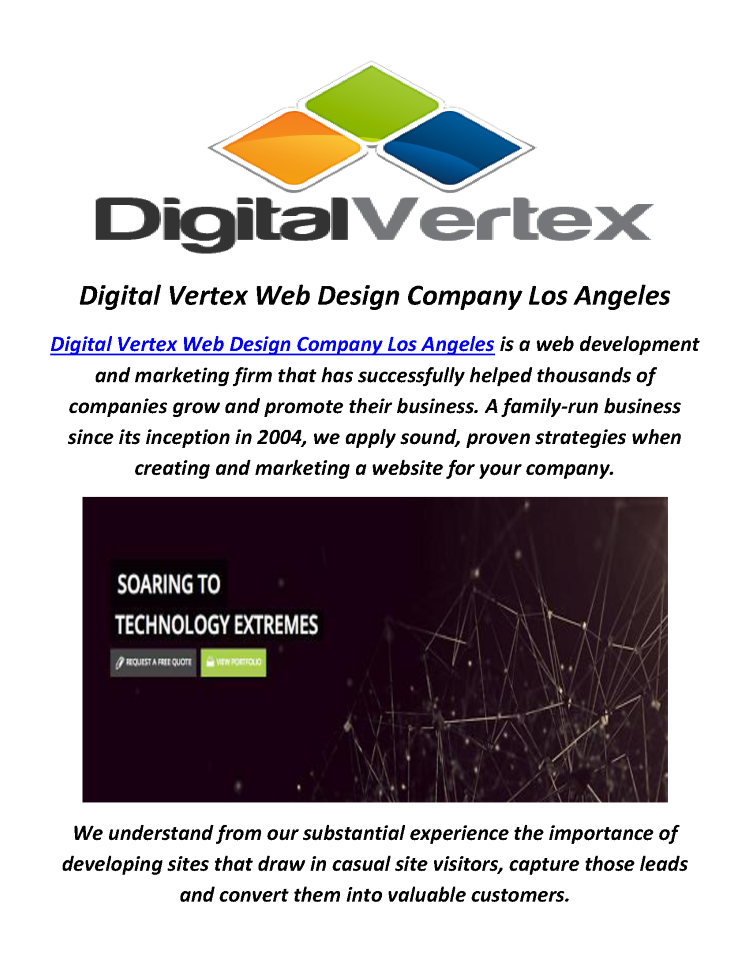 digital vertex best web design company in los angeles ca authorstream. Black Bedroom Furniture Sets. Home Design Ideas