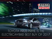 Toyota Prius Prime is The Electric/Hybrid Best Buy of 2017