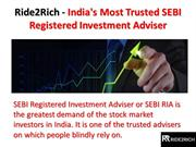 Ride2Rich - India's Most Trusted SEBI Registered Investment Adviser