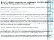 Green Ivy Publishing announces a new book by author John Malek