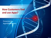 How customers find and use apps