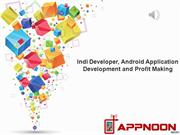 Android Application Development and Profit Making