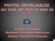 Photos  Inoubliables 2016
