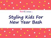 Styling Kids For New Year Bash