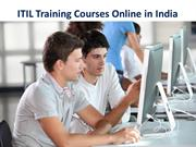 ITIL Training Courses Online in India