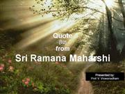 20100105 - Quote from Sri Ramana Maharsh