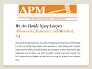 Slip and fall attorneys fort lauderdale