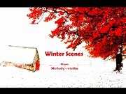 1-Dec 23-Winter Scenes-Melody-violin