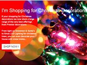 Buy Christmas light and decoration items from IMSHOPPINGFOR LTD