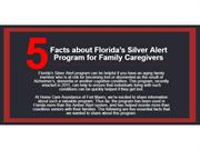 5 Facts about Florida's Silver Alert Program for Family Caregivers
