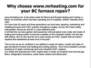 Furnace cleaning in Surrey
