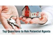 Top Questions to Ask Potential Agents
