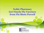 Noble Pharmacy - Get Timely Flu Vaccines from Flu Shots Purcell