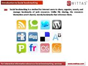 eWittas Social bookmarking services