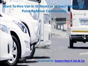Want To Hire Van In St Neots or St Ives Follow The Point To Move Comfo