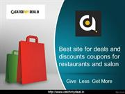 restaurants deals and discounts offers