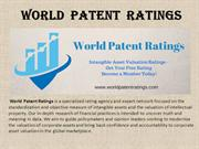 World  Patent  Ratings