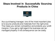 Steps to Successfully Sourcing Products in China