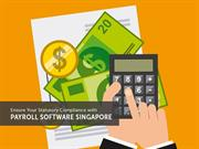 Ensure Your Statutory Compliance with Payroll Software Singapore