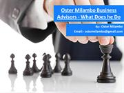 Oster Milambo Business Advisors