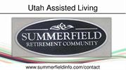 Utah Assisted Living