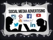 know importance of Social media advertising  with VertexPlus