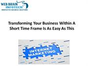 Transforming Your Business Within A Short Time Frame