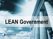 Lean Government by Operational Excellence Consulting