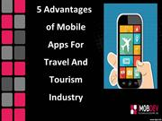 Mobile App for Travel and Tourism Industry