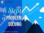 5 Steps of Problem Solving by Operational Excellence Consulting
