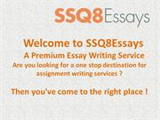 Get Custom Academic, Essay & Dissertation Cheap Writing Services