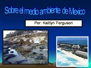 Mexico Environmental Issues - Kaitlyn[1]